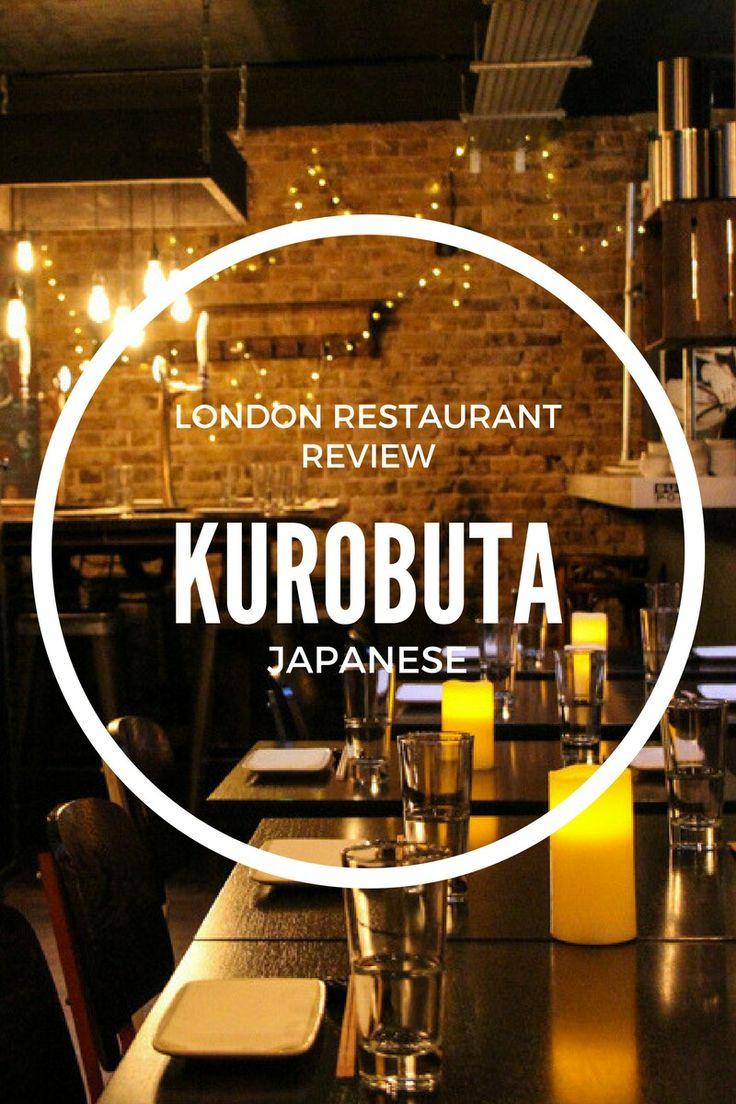 Kurobuta London Restaurant Review: fast, dirty Japanese food on Kings Road