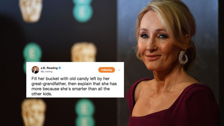 JK Rowling's Response To Donald Trump Jr Taking His Daughter's Halloween Candy Is Spot On