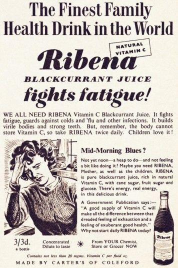 Ribena like it should taste [Today's muck tastes nothing like the Ribena of my childhood]
