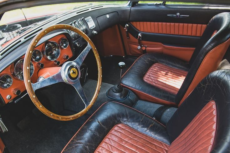 Robert Wilke's 1955 Ferrari 375 MM Coupe Speciale is Unique