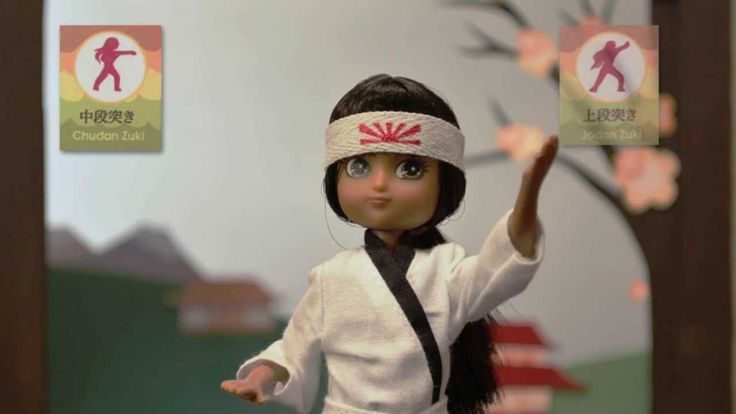 Kawaii Karate Lottie Doll