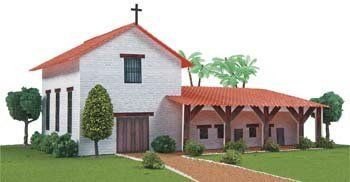 California Mission San Francisco Solano by Hobbico. $21.99. California Mission San Francisco Solano