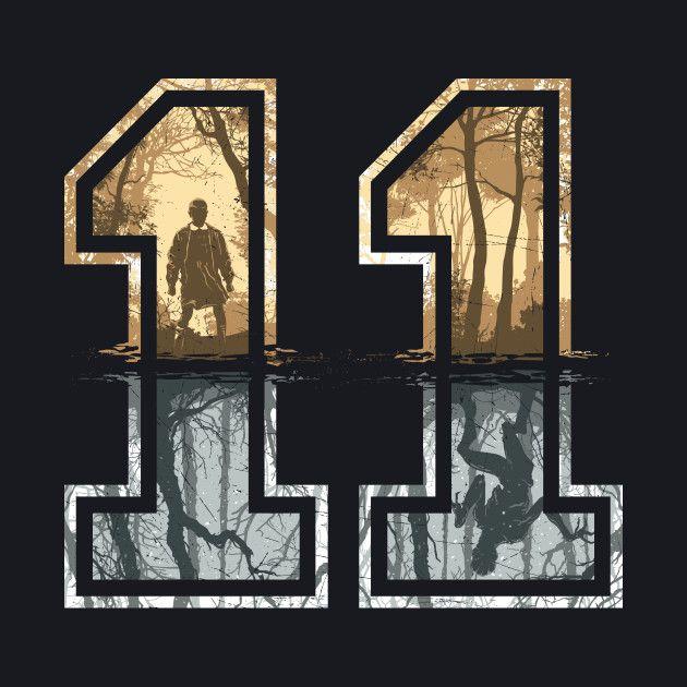 Strange Number 11 (gold-silver)