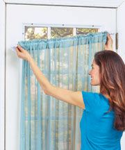 Best 25 Magnetic Curtain Rods Ideas On Pinterest