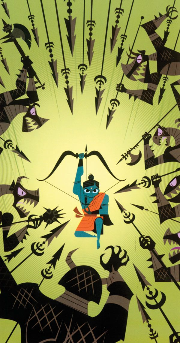 Rama. By Sanjay Patel.