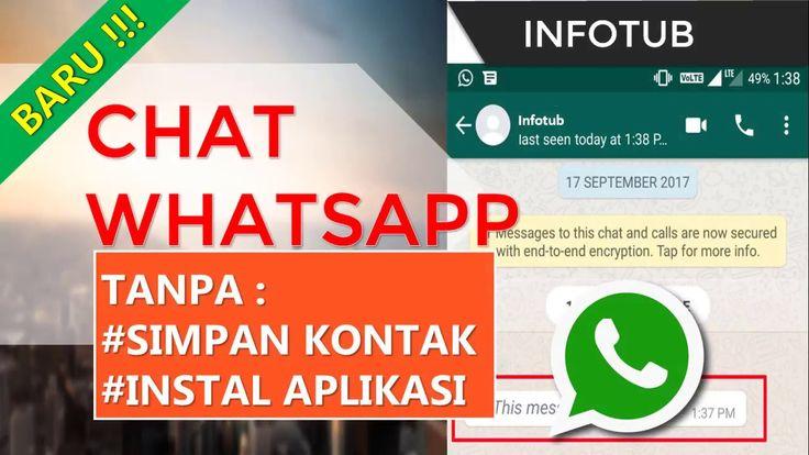 Terbaru Chat Whatsapp Tanpa Simpan No Kontak dan Tanpa Install Aplikasi ...