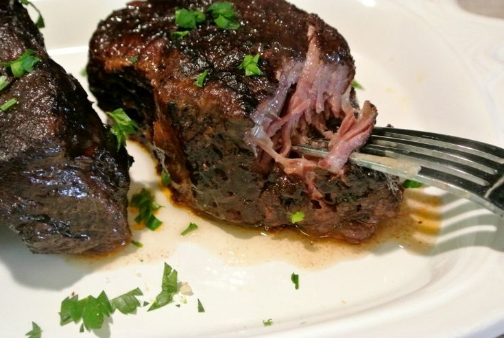 Red wine gives a deep, dark color and flavor, and fall-off-the-bone tenderness in these succulent Slow Cooker Boneless Beef Short Ribs.