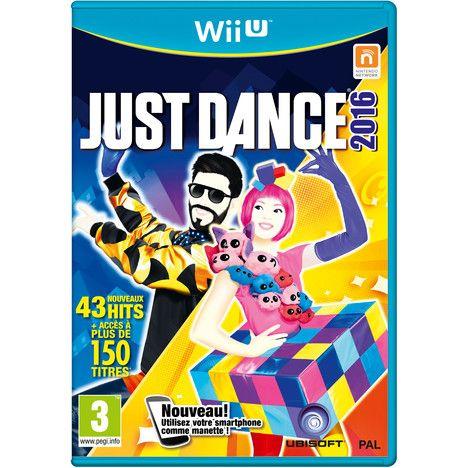 Réservé Mamie Tartine THAIS Just Dance 2016 Wii U 35 euros