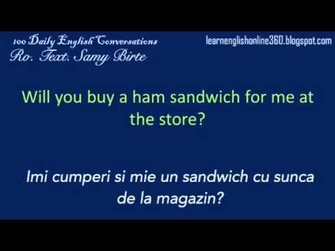 Conversatii în Englezā lectia 12