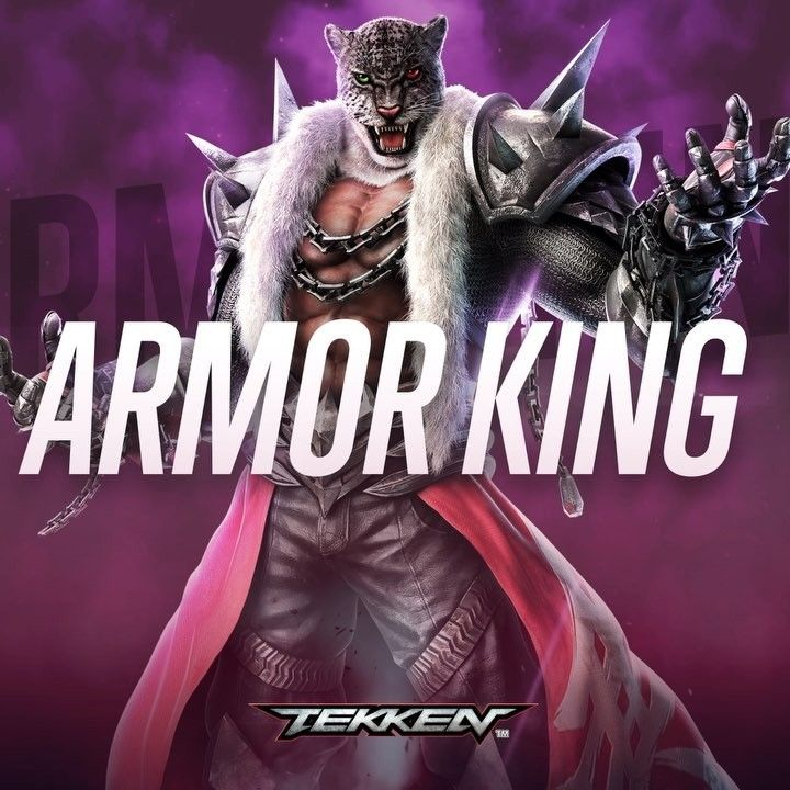 Tekken On Instagram The Enigmatic Armor King Is Always Seen