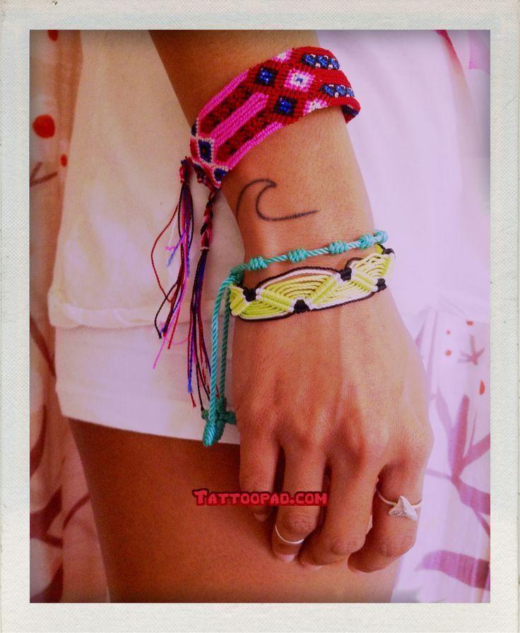Friendship Bracelet Tattoos Friendship Bracelet Tattoos
