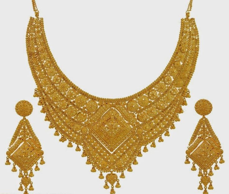 Golden Indian Wedding Necklace