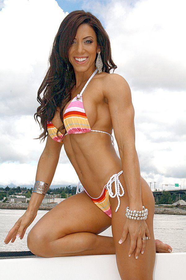 Julie Coram Bonnett Body Building Women Fitness Models Female Physically Fit Women