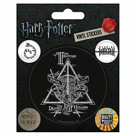 Harry Potter Symbols Sheet of Vinyl Stickers