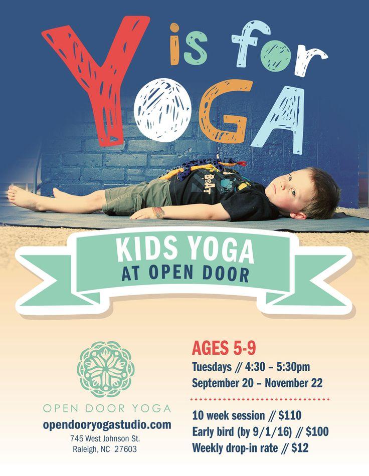 Graphic Design Design web and Web development - yoga flyer