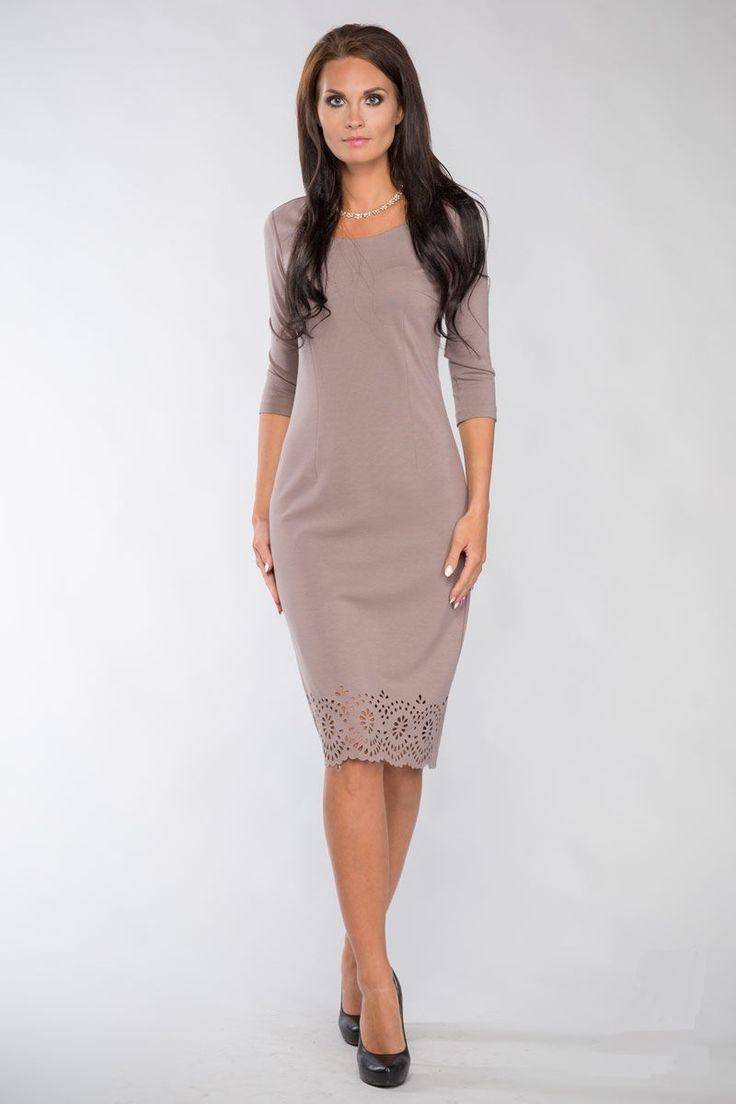 Купить бежевое платье | Бежевые платья в интернет магазине ШЕМАРТ