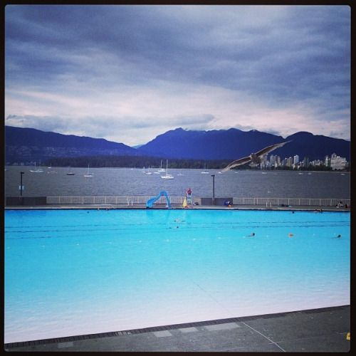 armadhavan:  That view!!!!!! (at Kitsilano Public Pool)