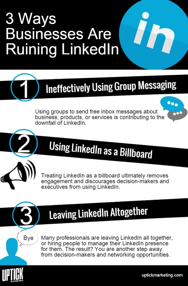 175 best linkedin tools tips images on pinterest social media 3 ways businesses are ruining linkedin socialmedia malvernweather Image collections