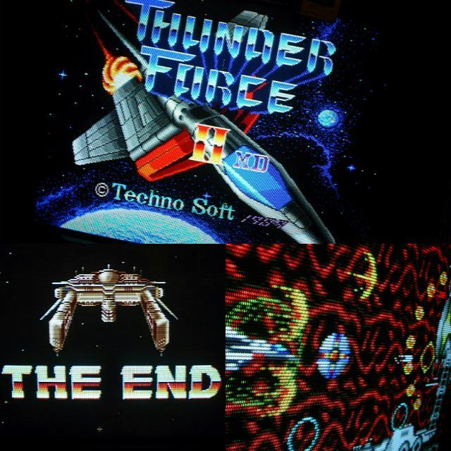 On instagram by denymetanol #x68000 #microhobbit (o) http://ift.tt/1VjsR0r #thunderforceII it's over  2nd loop completed