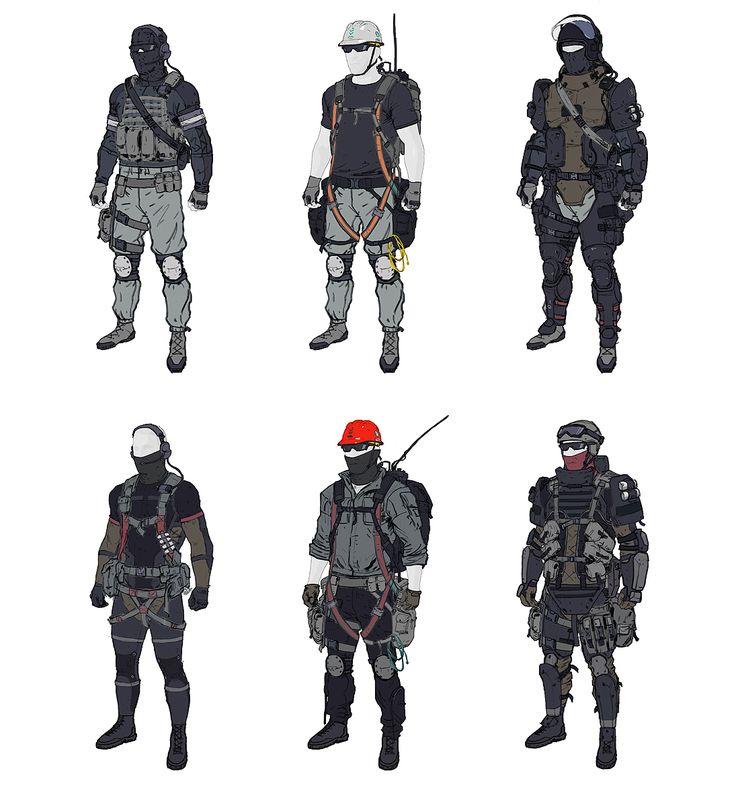 Rocketumblr   ajtron: Concept art for Metal Gear Online