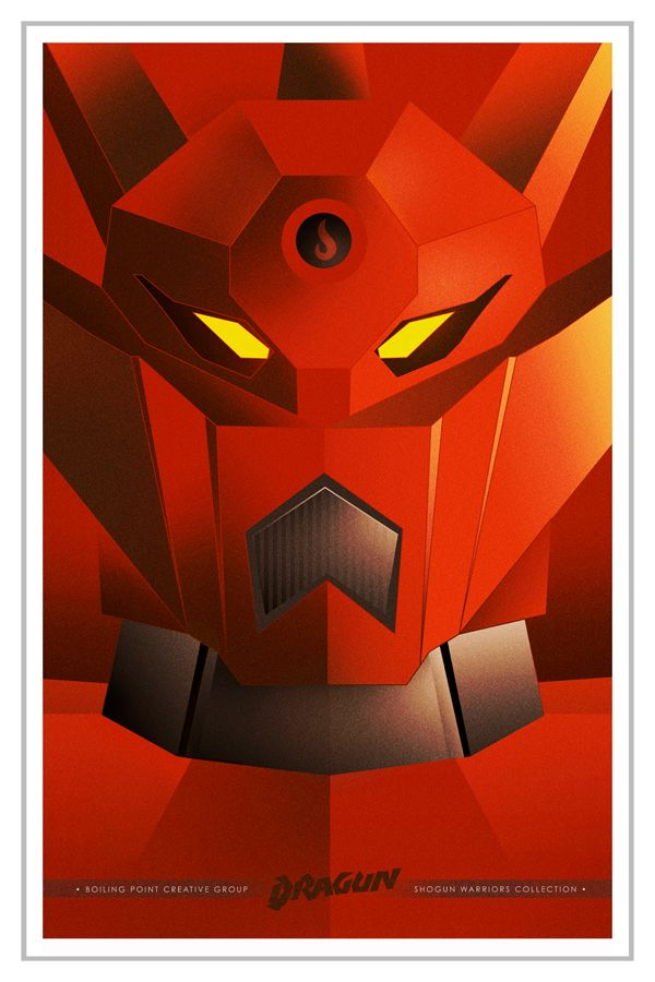 Dragun | Getter Robo by Boiling Point Creative
