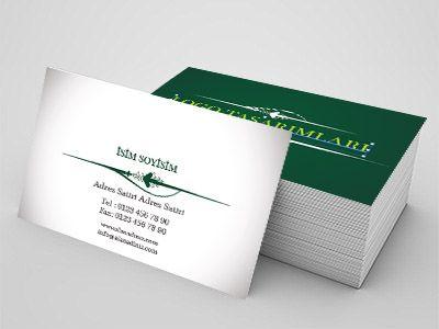İletişim sektörü için kartvizit örnekleri