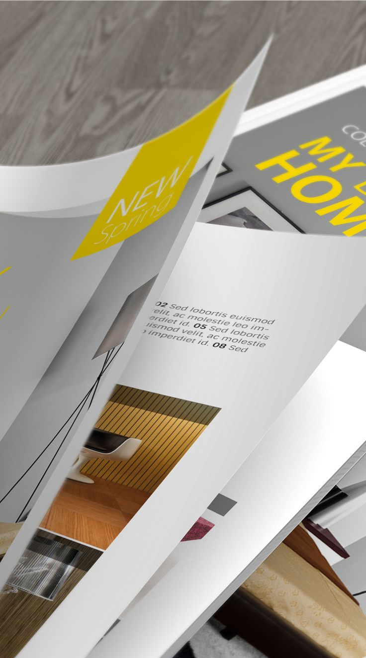 Present your magazine or brochure design in a professionally way!