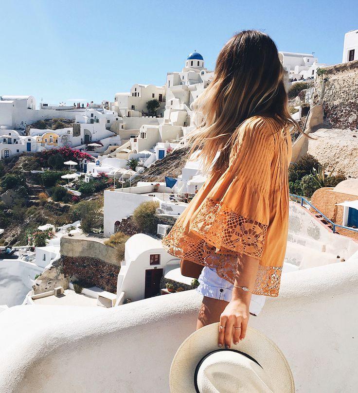 Travel Diary: Greece Honeymoon to Santorini & Athens - LivvyLand Austin Fashion and Style Blogger