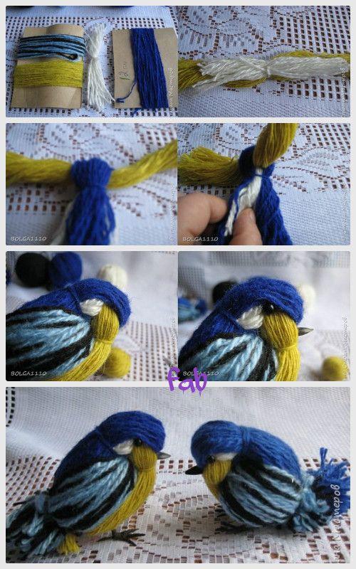 DIY Crochet Bird Ornament Free Pattern