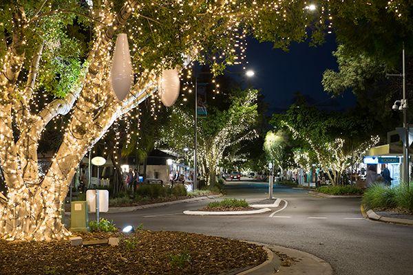 Lights on Hastings Street