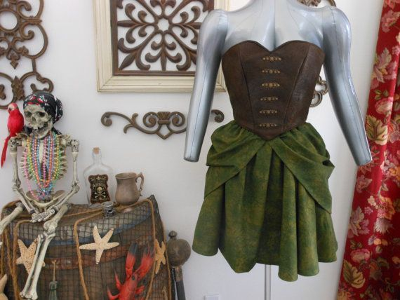 ON SALE NOW Zarina Pirate Fairy Bodice by scalarags on Etsy