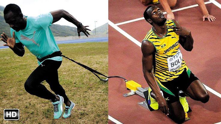 Usain Bolt Run Training | Best Speed Workout Techniques | Motivation Hig...