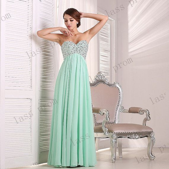 Mint green bridesmaid dress bridesmaid dress new by for Mint green wedding dress