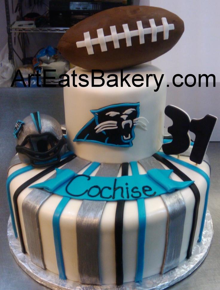 26 Best Carolina Panthers Cakes Images On Pinterest