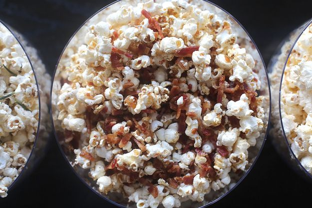 Popcorn With Bacon Fat, Bacon, And Maple Syrup Recipes — Dishmaps