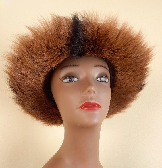 italian hat safari hat vintage fur hat africa hat