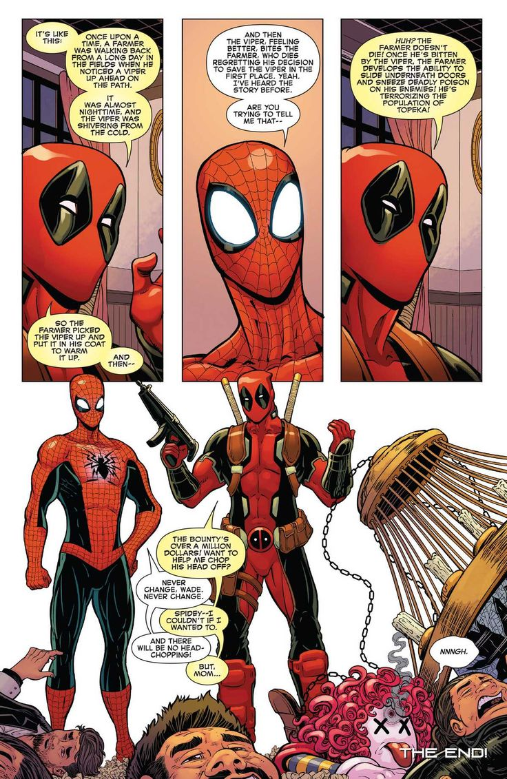 Spider Man Deadpool 2016 Issue 20 page 22 online