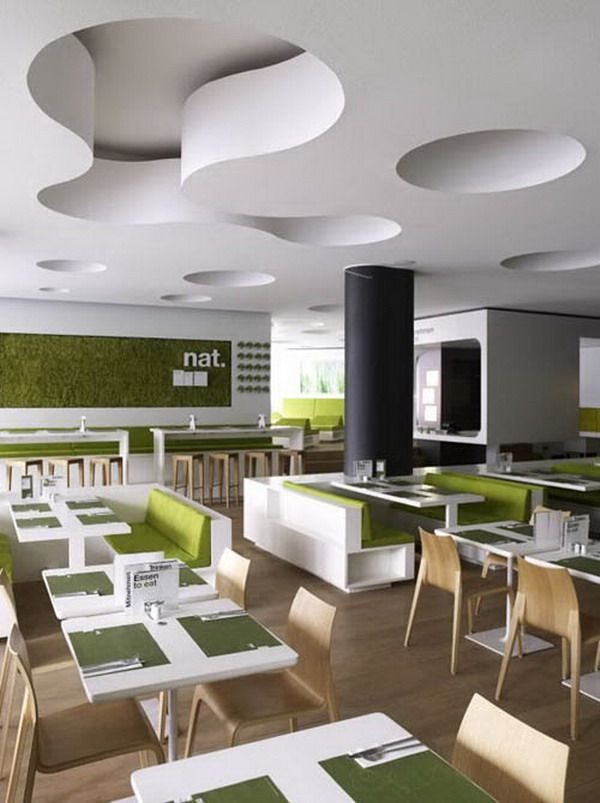 Contemporary Minimalist Style with Stylish Restaurant Furniture Style Picture