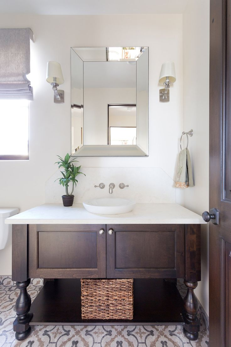 wooden vanity design with circular sink denton developments - Bathroom Cabinet Design Ideas