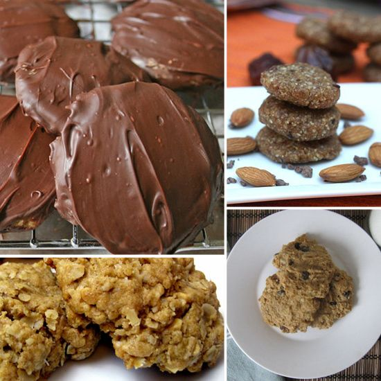 Don't Stop at Just One: 10 Healthy Cookie Recipes...um yes please!Health Food, Health Care, Healthy Eating, Healthy Cookies Recipe, Health Tips, 10 Healthy, Healthy Cookie Recipes, No Baking Cookies, Peanut Butter