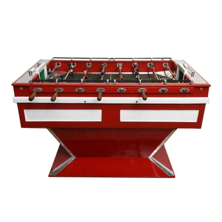 Midcentury French Coin Operated Foosball Table