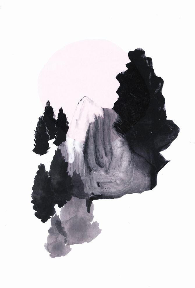NEW ILLUSTRATIONS: Landscapes - Gitte Lægård