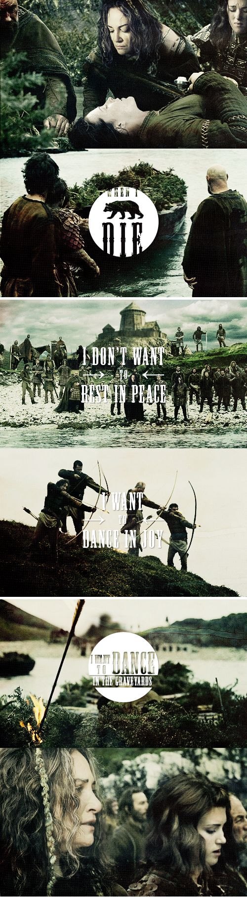 House Mormont: Let's dance in the graveyards. #asoiaf House Mormont is awesome and I want to see more of them.