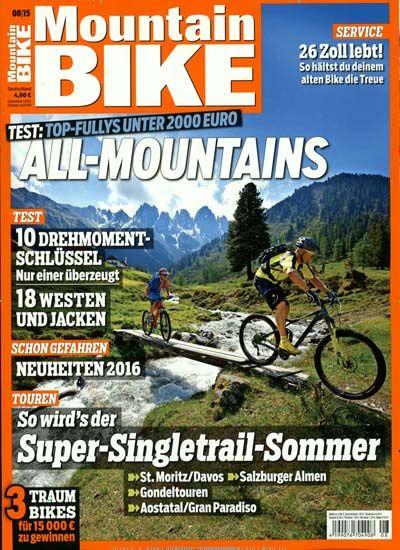 So wird's der - Super-Singletrail-Sommer. Gefunden in: Mountain BIKE, Nr. 8/2015