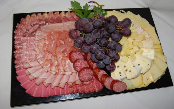 kalte Platte mit Käse                                                                                                                                                     Mehr