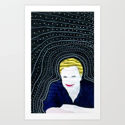Still attached Art Print by Plasmodi - $20.00