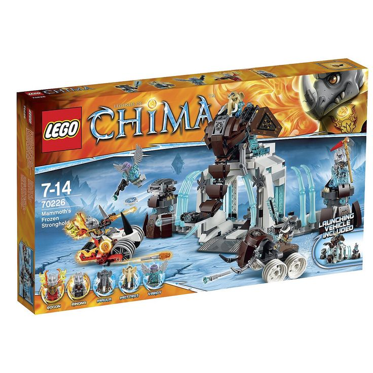 LEGO Legends of Chima Mammoth's Frozen Stronghold (70226)