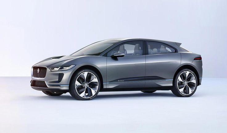 Jaguar presents I-PACE Concept EV for 2016 Los Angeles Auto Show