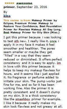 ENJOY YOUTHFUL LOOKING SKIN - Eclipse smooths over rough patches, so your face appears flawless.