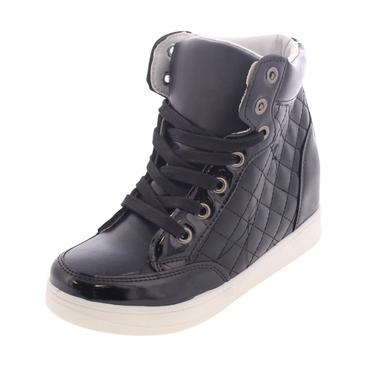 Via Pinky Collection - Women's Wedge Sneakers - Back